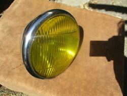 1937-1940 Guide Script Approx. 7 Inch Fog Light With 6 11/16 Inch Measured Lens