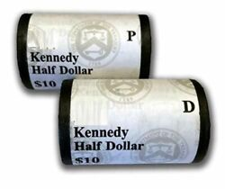 2006 Kennedy Half Dollar P And D Mint Set 10 Coin Rolls Ogp Sealed 5a8 Box Mb743