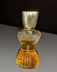 Avon Vintage Persian Wood Since 1956 Cologne Collectible Glass Rib Twist Bottle