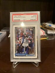 1992 Topps Shaquille Oand039neal 362 Rookie Card Psa 10