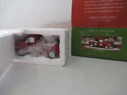 Dept 56 Pine Isles Wallyand039s Wood Delivery New In Box