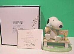 Lenox Peanuts Happiness Is Ice Cream With Snoopy And Woodstock New In Box With Coa