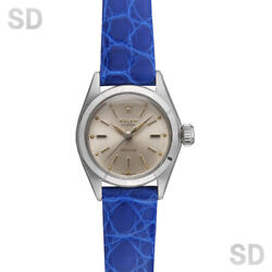 Rolex Oyster/hand-wound 6411 Silver Antique Women And039s