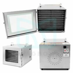 1000w 10 Layers Stainless Steel Food Dehydrator Electric Fruit Drying Machine