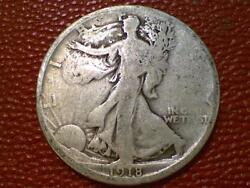 The Joy Of Coin Collecting1918 S Walking Liberty Half Dollar Silver Old 1694