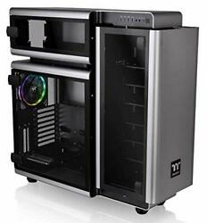 Full Tower Gaming Computer Pc Case With 3 Riing Plus 140mm Rgb E-atx Level 20