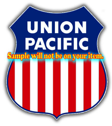 Union Pacific Railroad Heralds Logos Vinyl Decals Sign Stickers Train Layouts