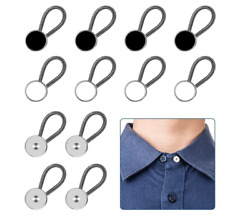 12pcs, Collar Extenders, Comfy Premium Invisible Neck , Adds 1 In Inst Extender