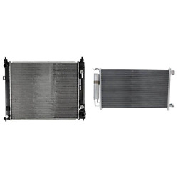 Radiator And A/c Condenser Kit For 2012 Nissan Versa