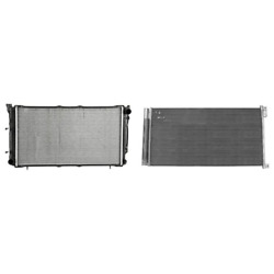 Radiator And A/c Condenser Kit For 2014-2015 Mini Cooper