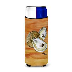 Caroline's Treasures-oyster Spicy Hot Ultra Beverage Insulators For Slim Cans...