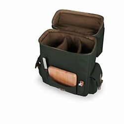 Legacy - A Picnic Time Brand Moreno Insulated 3-bottle Wine Tote With Wine An...