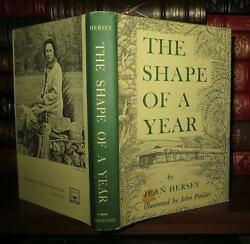 Hersey Jean The Shape Of A Year 1st Edition 1st Printing