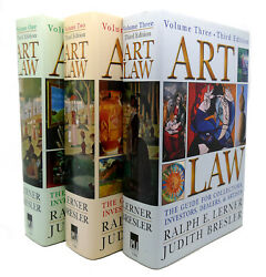 Ralph E. Lerner Art Law The Guide For Collectors Artists Investors Dealers