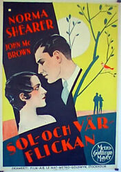 After Midnight / Norma Shearer / 1927 / Monta Bell / Movie Poster/89