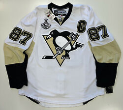 Sidney Crosby 2009 Stanley Cup Penguins Edge Authentic Reebok 7187 Jersey 56