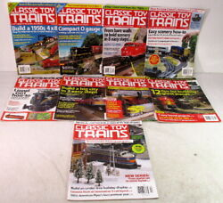 Kalmbachmagazinesclassic Toy Trains2013complete Yearo And S-gauge Model Train