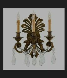 Metropolitan Lighting N952013 3-light Candle-style Wall Sconce - Oxidized Brass
