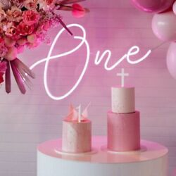 Number One Sign Neon Birthday Custom Made Wall Lights Party Wedding Decorations