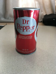 Empty 1960s Dr Pepper Can - Rare Factory Defect - Never Opened