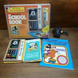 Disney Mickey Mouse Rare Vintage Calculator/quiz Game Mib Works Perfectly