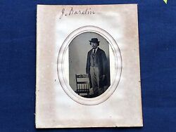 Photo From 1877 Tintype Cdv Album Possible Unknown John Wesley Hardin Photograph