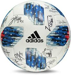 Fc Dallas Signed Mu Soccer Ball From The 2018 Mls Season And 20 Signatures