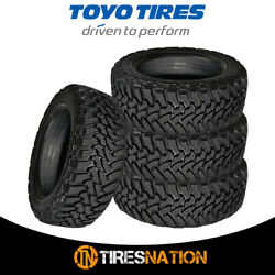 4 New Toyo Open Country M/t 285/60/20 125/122q Mud Terrain Tire