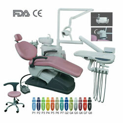 Dental Unit Chair Computer Controlled Hard Leather With Doctor Stool Tj2688-b2