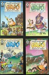 Dark Horse Comics Groo Groo Death And Taxes Complete Series 1-4 Ex