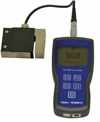 Shimpo Fg-7000l-r-50 Digital Force Gauge With Remote Ring Type Load Cell 11 Klb