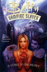 Buffy The Vampire Slayer A Stake To The Heart Tpb 1-1st Fn 2004 Stock Image