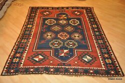 On Sale Antique Caucasian Sewan Kazak South Caucasian Circa 1880and039s 5and039x7and039 Rug