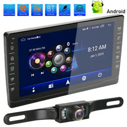 Double 2din 8 Touch Screen Android 9.0 Car Stereo Radio Gps Wifi Mirror Link Bt