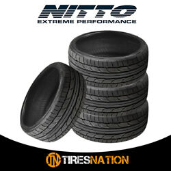4 New Nitto Nt555 G2 305/35/19 106w Ultra-high Performance Sport Tire