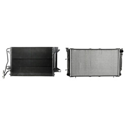 A/c Condenser And Radiator Kit For Ford Fusion Mercury Milan