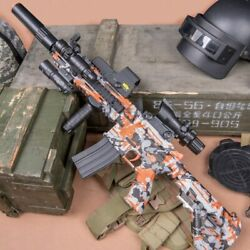 New M416 Electric Rifle Gel Blaster Toy Gun Water Bullet Crystal For Kids - Gift