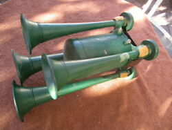 1930and039-1940and039s Spartan 4 Trumpet Musical Horn Or Chime Bugle