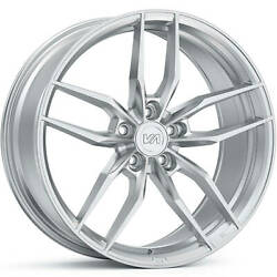 4 Staggered 20x9 / 20x10 Variant Krypton Brushed 5x120 +30/+25 Wheels Rims