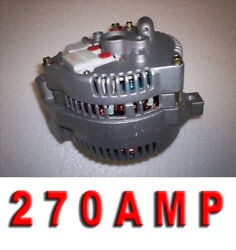 Ford Mustang Bronco 1-wire 3g 270 High Amp New Hd Alternator Generator 1965-1978