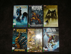 Marvel Lot- Wolverine Blood And Sorrow, Origins And Endings, Death Of Wolverine