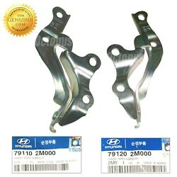 Genuine Hyundai Hood Hinge Set Left And Right Sides For 2010-2016 Genesis Coupe Oe