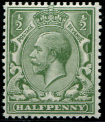 ½d Sg 351 Variety 'grey-green' U/m, Superb Fresh With Excellent Colour Of This