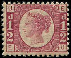 ½d Sg 48, Pl.19 U/m, Well Centred, Fab Strong Colour Of This Scarcer Plate.