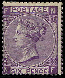 6d Sg 109, Pl.8 Mint, Very Fine Fresh L/m, Lovely Colour Of This Scarcer Plate.