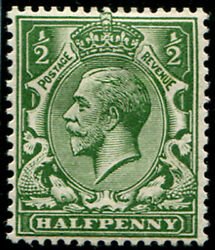 ½d Sg 3535 'very Deep Green' Mint, Good Fresh M/m, Excellent Colour Of This S