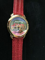 Disney's All Aboard For Mickey's Toontown Ltd Edt Numbered Watch- New -works