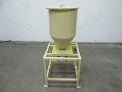 Hopper For Plastic Resin W Stand 24x15 In T105127