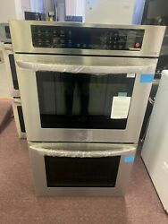 Lg 9.4 Cu. Ft. Double Wall Oven - Stainless Steel Lwd3063st