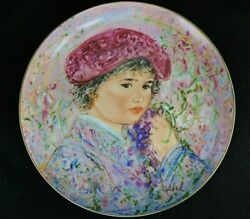 Lot Of Three Hibel Decorative Collector Plates Made By Knowles And Rosenthal